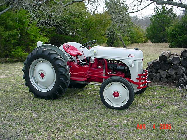 1948 Ford 9n Tractor : My n trailer queen mytractorforum the